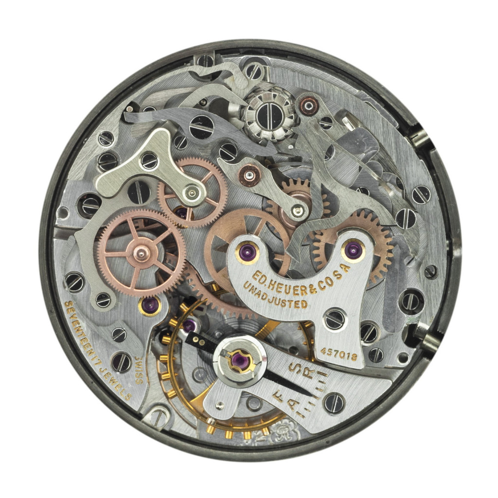 Valjoux 72 Movement from an Early Autavia