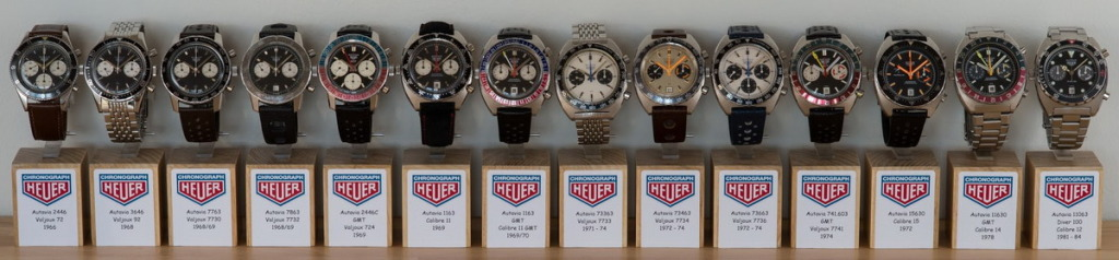 The Autavia was powered by 14 different movements over its lifetime; photo courtesy of Peter Moller