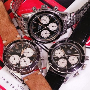 Three manual-wind, screw-back Autavias from the 1960s.