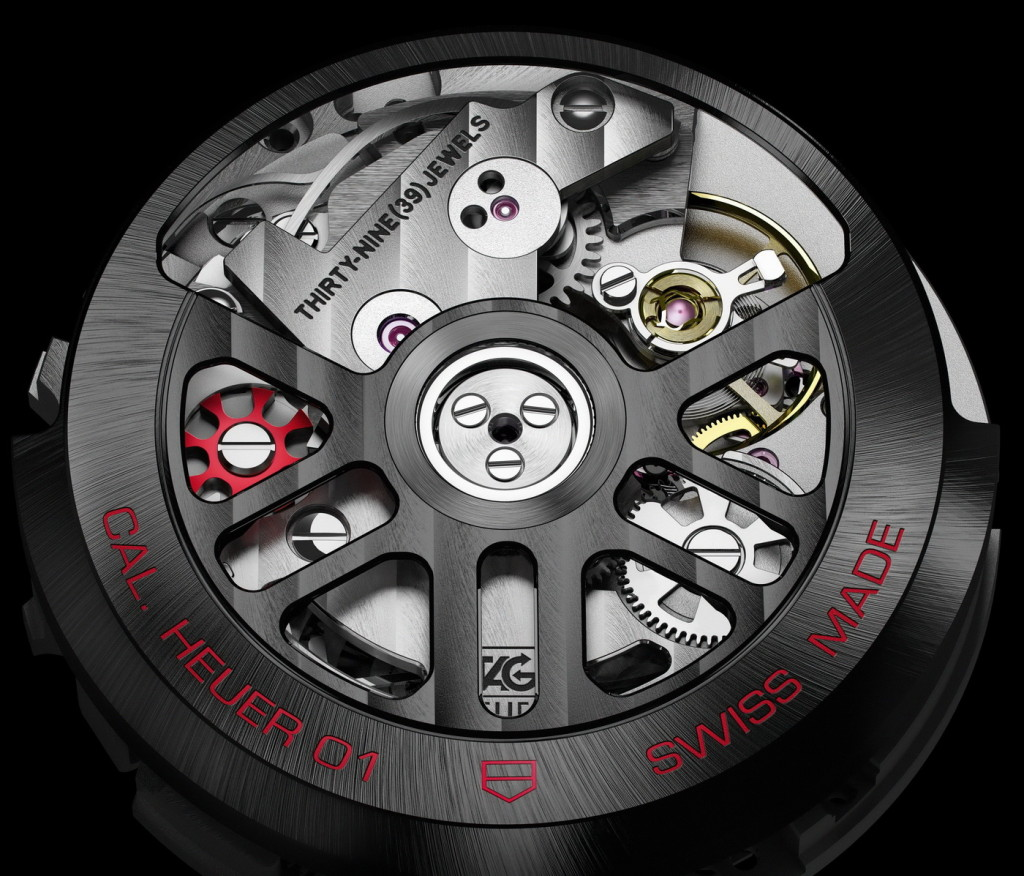 Carrera Heuer 01 Movement