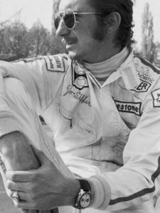 Jo Siffert Wearing Heuer Autavia, Reference 1163 T